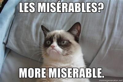 Les Miserables Cat Meme Cat Planet Cat Planet