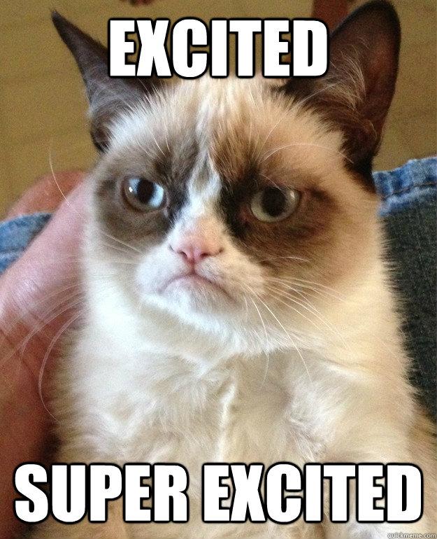 excited cat meme cat planet cat planet