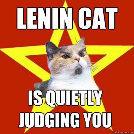 Lenin Cat Name