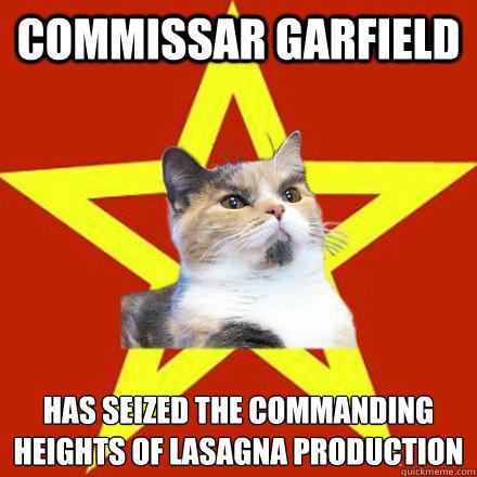 Commissar Garfield Has Seized Cat Meme Cat Planet Cat Planet
