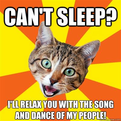 Cant sleep Ill relax you can't sleep? i'll relax you cat meme cat planet cat planet