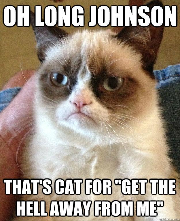 Oh long johnson oh long johnson cat meme cat planet cat planet