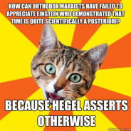 How Can Orthodox Marxists Have Failed To Cat Meme