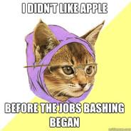 I Didn't Like Apple Before Cat Meme