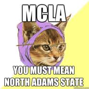 MCLA You Must Mean North Adams State Cat Meme