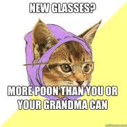 New Glasses? More Poon Cat Meme